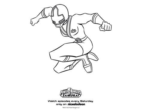 coloring pages power rangers samurai power rangers coloring pages