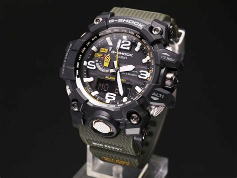 Gshock W01s Black L Blue free ems new casio g shock mudmaster tough solar