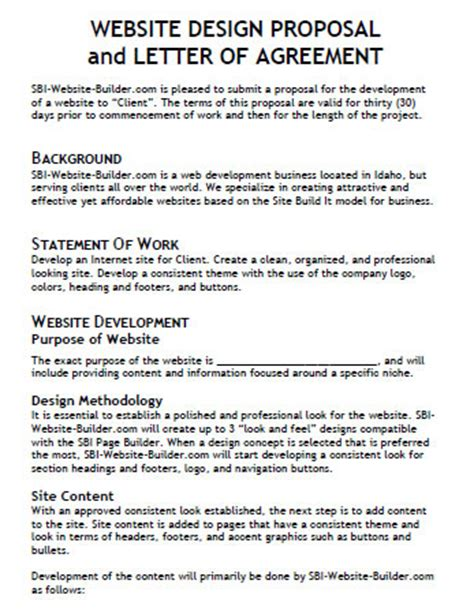 design brief proposal useful web design proposal resources tools and apps