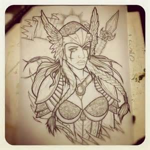 25 best ideas about valkyrie tattoo on pinterest norse