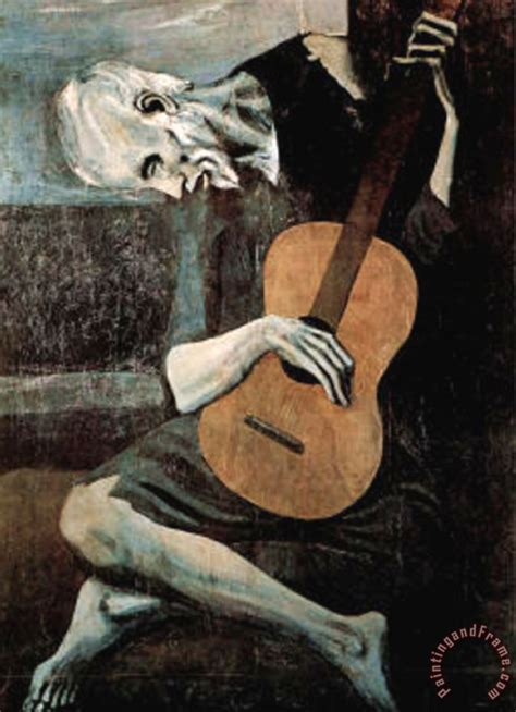 picasso paintings sale price pablo picasso guitarist painting guitarist print