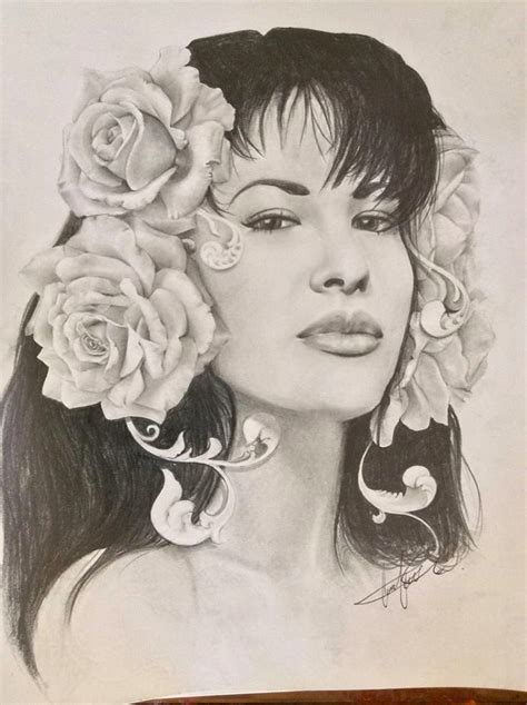 Selena Q Drawing by Selena Quintanilla By Mggaze On Deviantart