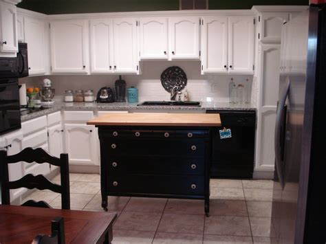 dresser kitchen island old dresser turned into kitchen island for the home