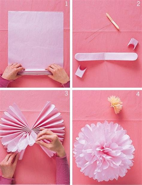 How To Make Tissue Paper Decorations For Baby Shower - ideas economicas para decorar baby shower buscar con