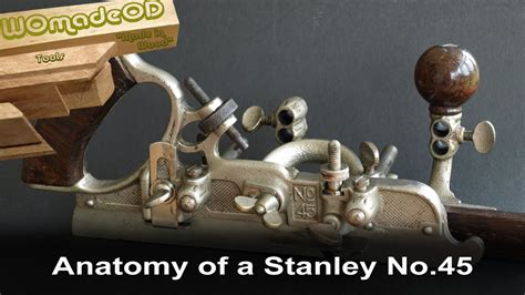anatomy   stanley   combination plane youtube