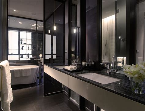 black bathrooms black white bathroom interior design ideas