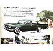 Car Brochures  1960 Rambler Swiss / 4JPG