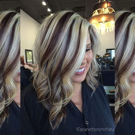 hairstyles with thick highlights 25 best ideas about thick highlights on pinterest thick