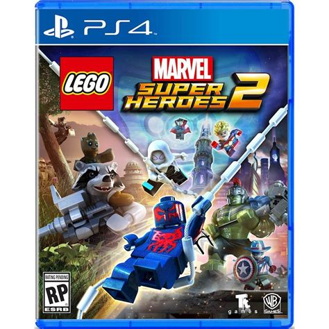 Ps4 Lego Marvel Superheroes 2 lego marvel heroes 2 cover more info bricks