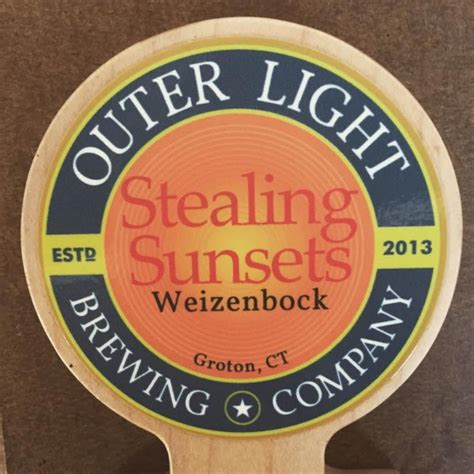 Outer Light Brewing Company by Outer Light Brewing Company Releases Stealing Sunsets
