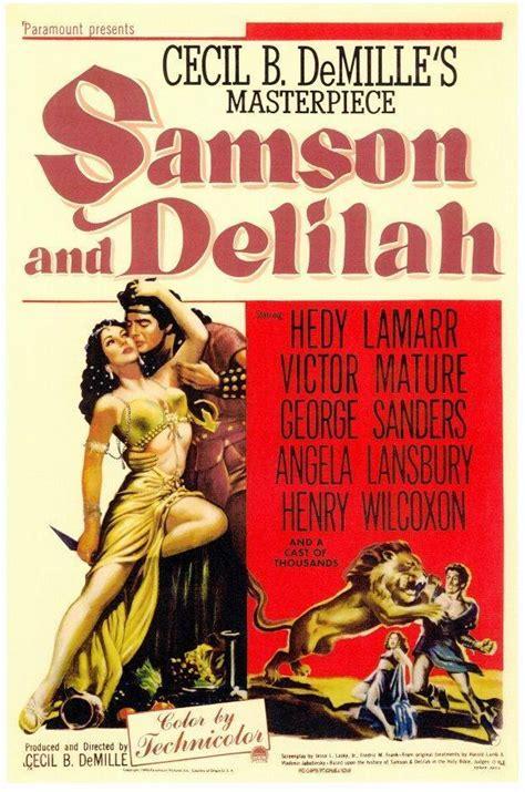 Samson Delilah 1949 Full Movie Samson And Delilah 1949 Film Wikipedia