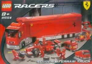 Scuderia Truck Lego Lego 8654 Scuderia Truck Set Parts Inventory And
