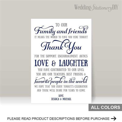 navy wedding reception   card templates