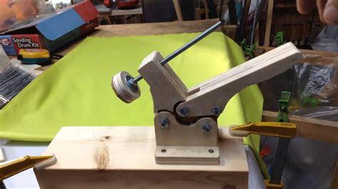 homemade toggle clamp  youtube