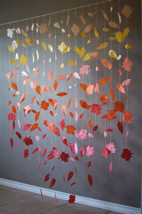 fall leaves garland printable fall wedding backdrop dream wedding diy pinterest