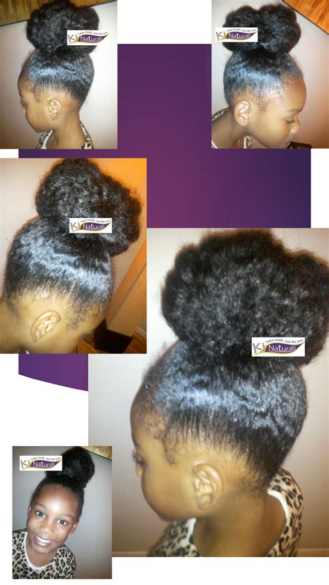 jamaican school hairstyles easy fix for new growth fuzzy edges kj