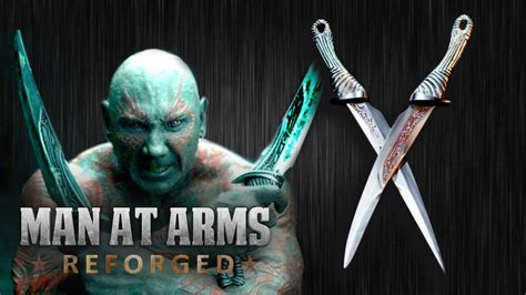 at arms drax s daggers guardians of the galaxy at arms