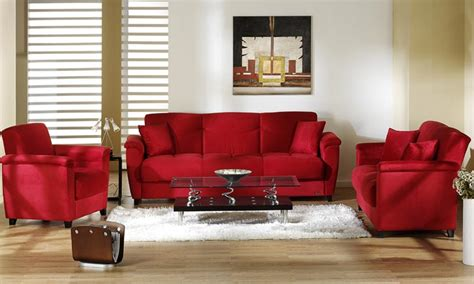 Red Leather Sofa Living Room Ideas Modern House