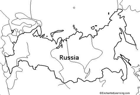coloring page map of russia outline map research activity 1 russia