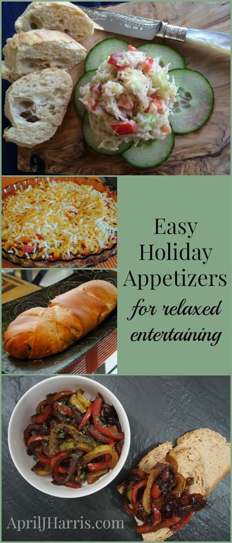 easy holiday appetizers for relaxed entertaining the o