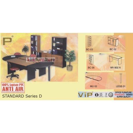 Meja Plastik Shinpo set meja kantor standard series d vip anti air kualitas