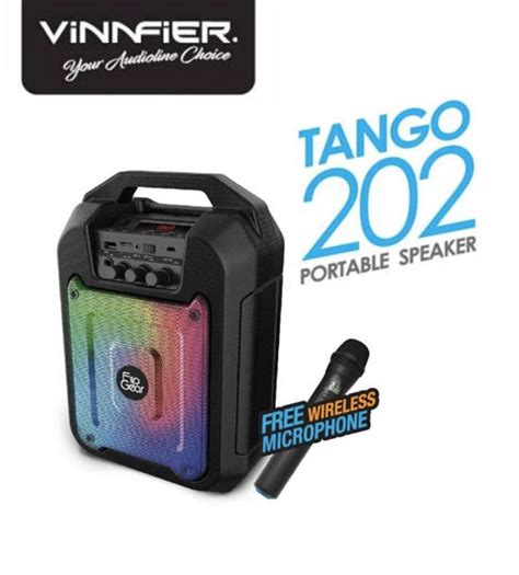 Speaker Bluetooth Sd 100 vinnfier flip gear 100 portable bluetooth speaker with voice recording karaoke system