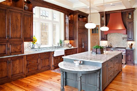 kitchen floor and counter tops with pine cabinets kitchen knotty alder kitchen cabinets kitchen rustic with carrera