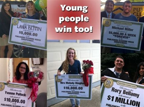 What Are Your Chances Of Winning Publishers Clearing House - do young people ever win at publishers clearing house pch blog