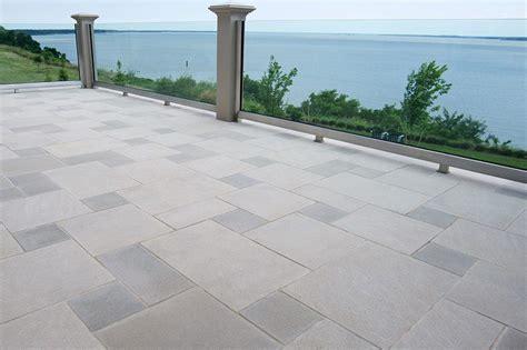 Paver Patio Design Pavers Indiana Limestone Company