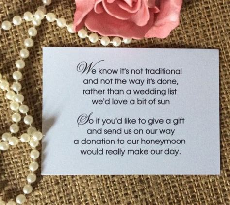wedding money gift best 25 wedding gift poem ideas on wedding
