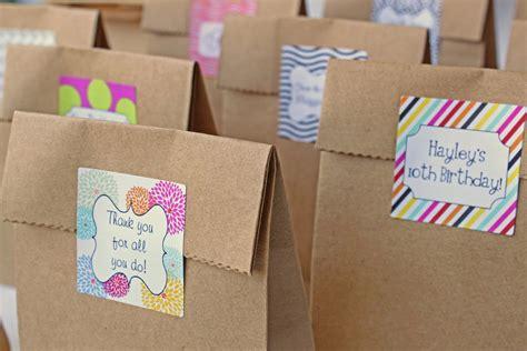 custom favor stickers goodie bag stickers wedding favor