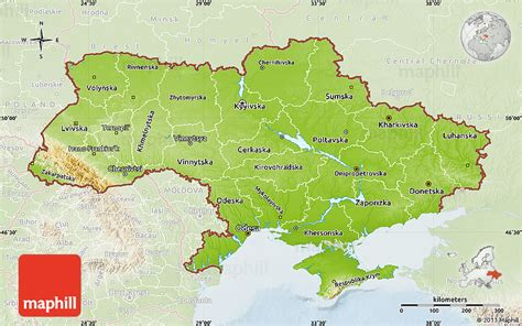 physical map of ukraine detailed map of ukraine related keywords detailed map of