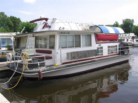 used boat trader mn used 1974 gibson houseboat st paul mn 55116