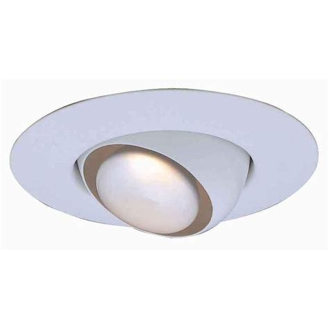 6 recessed lighting eyeball trim progress lighting 6 in white recessed regressed mini