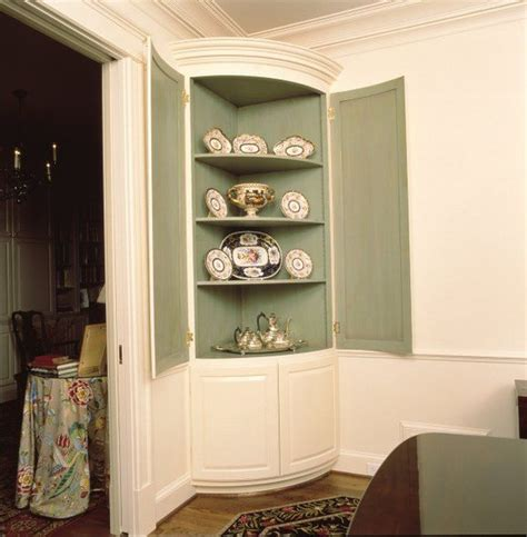 built in corner china cabinet 11 best corner cabinet painting ideas images on