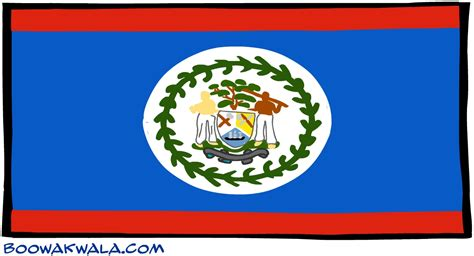belize flag  large images