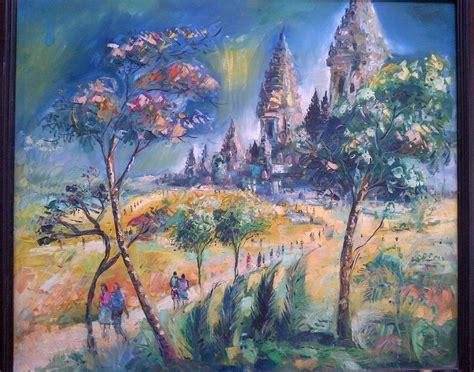 candi prambanan on canvas 85 x 100 cm 087838671118