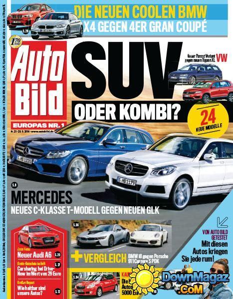 Autobild 6 2014 Pdf by Auto Bild 21 2014 23 05 2014 187 Pdf Magazines
