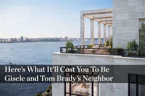 tom brady new house tom brady and gisele b 252 ndchen list 17 25 million nyc