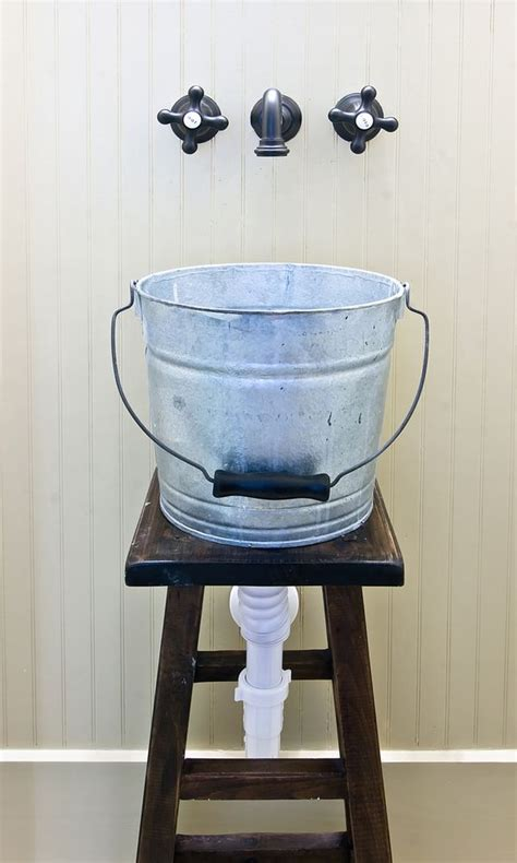 bucket for bathroom 17 best images about bathroom on pinterest rustic