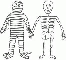 coloring pages halloween skeleton halloween colorings