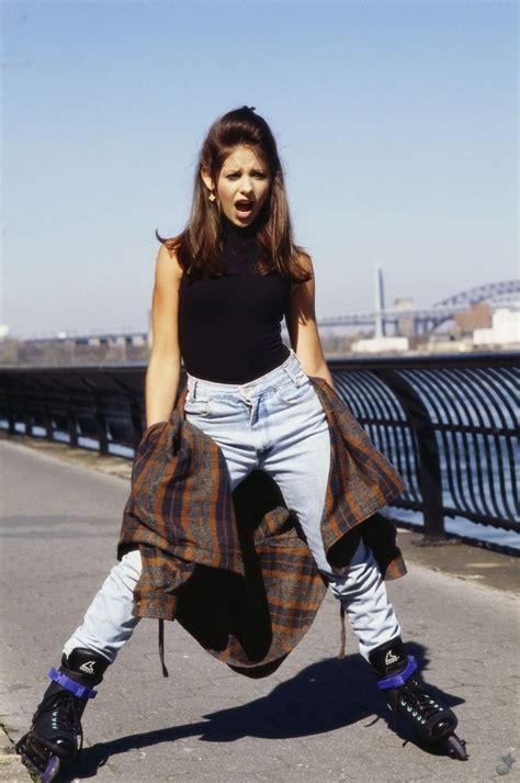sarah young midweek 90s girl crush sarah michelle gellar fashion grunge