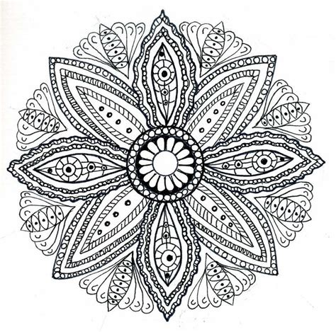 mandala flower coloring pages difficult flower mandala coloring pages 30 image collections