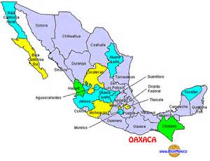 Map Of States Of Mexico by Bluemexico Huatulco Maps