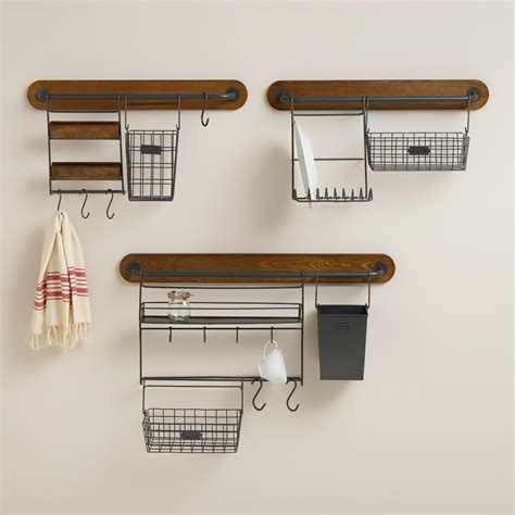 Modular Kitchen Wall Storage Collection From Cost Plus World | modular kitchen wall storage collection world market