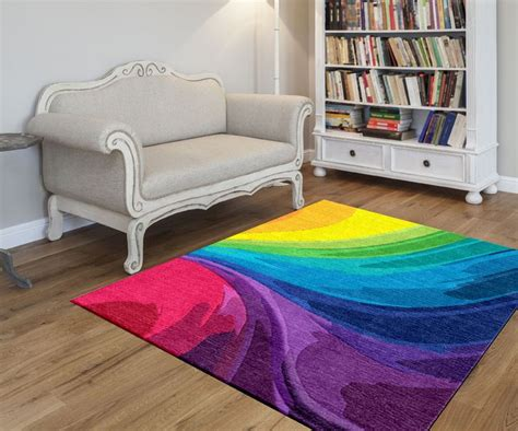 fantastic rainbow rug ideas    home livelier
