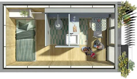 making a garage into a bedroom architects turn disused parking garages into pop up homes