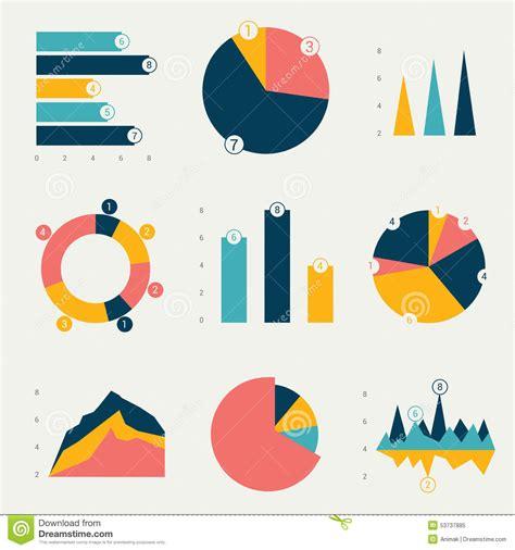 graph layout vector flat charts graphs stock vector image 53737885