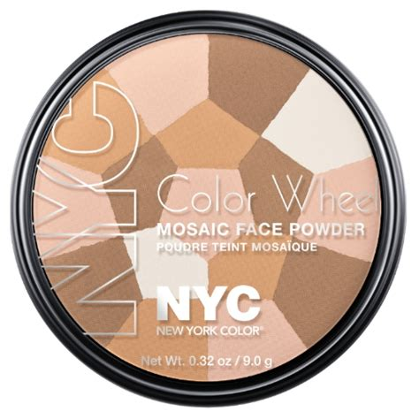 nyc color wheel nyc color wheel mosaic powder beautyjoint