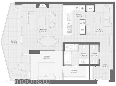 floor plan la shangri la 180 university avenue condo floor plans